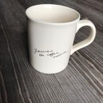 "Gewinn #2: Die Kaffeetasse ""florence + the coffee machine"""