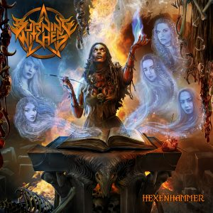 Burning Witches Hexenhammer Cover