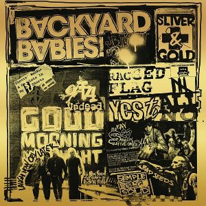 Backyard Babies Sliver And Gold Cover
